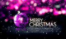 purple silver merry christmas bokeh beautiful 3d background download image now