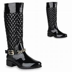 gummistiefel schwarz damen damen stiefel in schwarz 819656 3401 stiefelparadies de