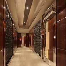 modern corridor walls pannel