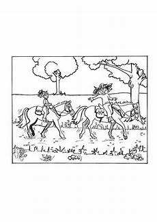 coloring page horseback img 9652 images