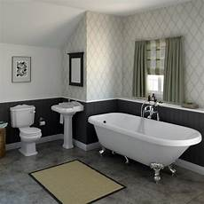 Bathroom Suites Ideas Oxford Traditional Free Standing Single Ended Roll Top