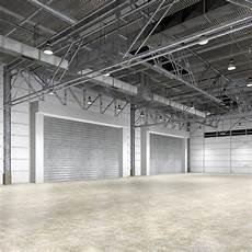 Interior Warehouse by Warehouse Interior Obj