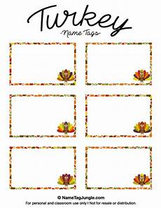thanksgiving turkey place card templates pin by muse printables on name tags at nametagjungle