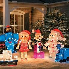 Sales Of Decorations by Rudolph Misfit Toys Set Of 6 Outdoor Tinsel