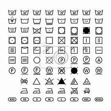 kleidung waschen symbole w 228 sche waschen etiketten anweisungen w 228 sche symbole symbolsatz fototapete fototapeten