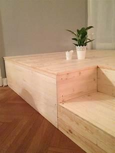 podest bauen wohnzimmer diy podest schlafzimmer home