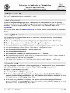2013 form uscis n 400 instructions fill online printable fillable blank pdffiller