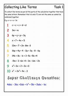 algebra basics intervention lesson by beckyhat776 teaching resources