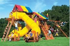 rainbow swing sets castles swing sets rainbow play systems
