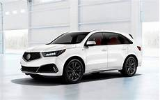 download wallpapers acura mdx 2019 white luxury suv exterior front view new white mdx