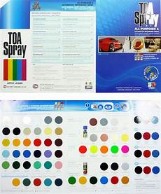 toa spray paint color chart project toxic prodigy