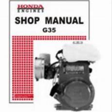 small engine service manuals 1995 honda accord engine control honda g35 engine shop manual