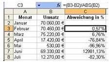 differenz in prozent berechnen b 252 rozubeh 246 r
