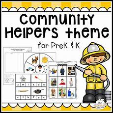 community helpers theme for pre k k the measured mom