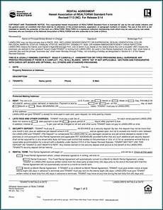 free printable rental agreement forms in form