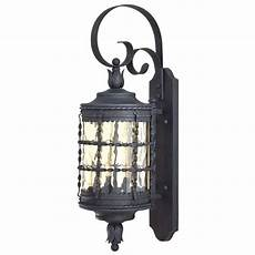 outdoor wall light with clear glass in iron finish 8881 a39 destination lighting