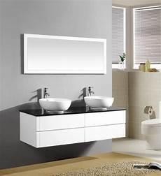 mobile bagno 2 lavabi arredobagno topazio2 da 150 cm con lavabo d appoggio