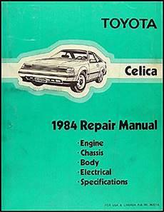 automotive service manuals 1996 toyota celica auto manual 1984 toyota celica wiring diagram manual original