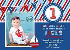 nautical birthday card template nautical birthday invitations sailboat invitation