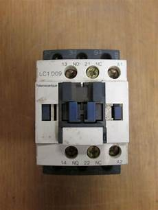 telemecanique contactor lc1 d09 120v coil 25a used ebay