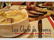 Zero to Disney: Chefs de France Dinner Review
