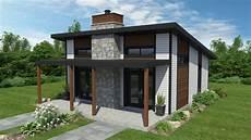 exemple maison moderne plan de maison moderne 233 conomique dessins drummond