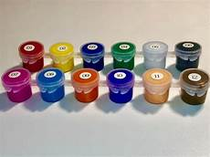acrylic paints kit 12 vibrant colors ceramic fabric