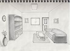 one point perspective interior by timluv on deviantart