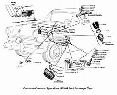 1953 ford car wiring diagram flathead parts drawings transmissions