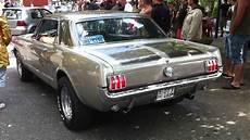 66 Ford Mustang V8 Sound Burnout