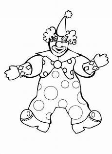 clown coloring pages for coloring worksheets 8