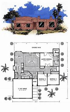 small adobe house plans small santa fe style house plans en 2020 casas de adobe
