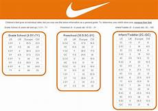 Shoes Nike Size Chart Nike Kid Shoe Size Chart Amulette