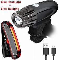Waterproof Bright Front Light And Led Bike