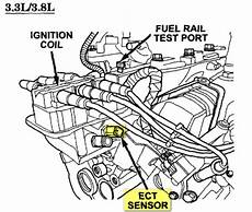 small engine repair training 2003 dodge caravan interior lighting replace engine coolant temperature sensor 2008 dodge caravan engine coolant temp sensor