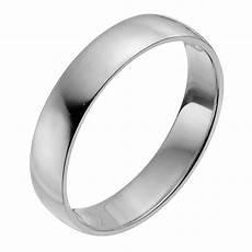 palladium 950 4mm extra heavy d shape ring h samuel