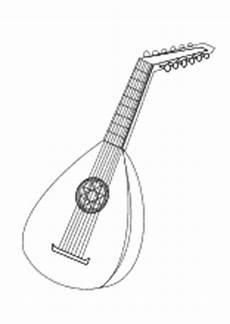 ausmalbilder rund ums thema musik noten und instrumente