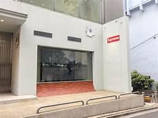 supreme japan shop tokyo japan july 26 2017 supreme store in tokyo