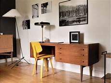 Bureau Vintage Caissons Asym 233 Triques Maison