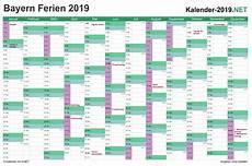Ferien Bayern 2019 Ferienkalender 220 Bersicht