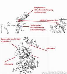 230km111e20evoml kompressor m62 aufbau c180 kompressor