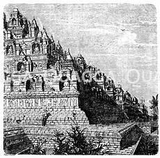 malvorlagen landschaften gratis java teil des tempels boro budor auf der insel java
