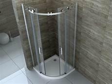 Duschkabine Viertelkreis 80x80 - rombo 80 x 80 cm glas schiebet 252 r viertelkreis dusche