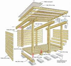 fine homebuilding house plans build a streamlined woodshed fine homebuilding in 2020