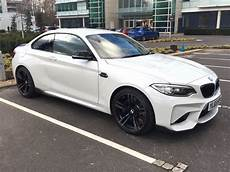 bmw m2 coupe white alpine white 2016 bmw m2 coupe with m performance parts spotted in the uk bmw car tuning