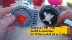 Waschmaschine Pumpt Nicht Ab Fehler 5e Error Diy Analyse