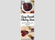 sweet cherry jam_image