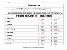 seasons worksheets for 7th graders 14806 in summer lesson plans worksheets reviewed by teachers