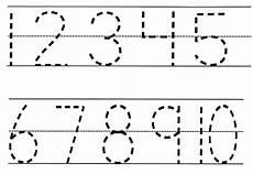number tracing pre k worksheets number tracing pre k