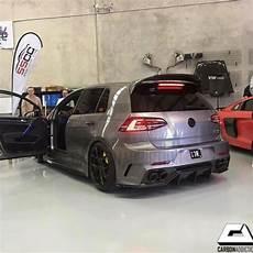 volkswagen golf mk7 aspec ppv400 style carbon spoiler
